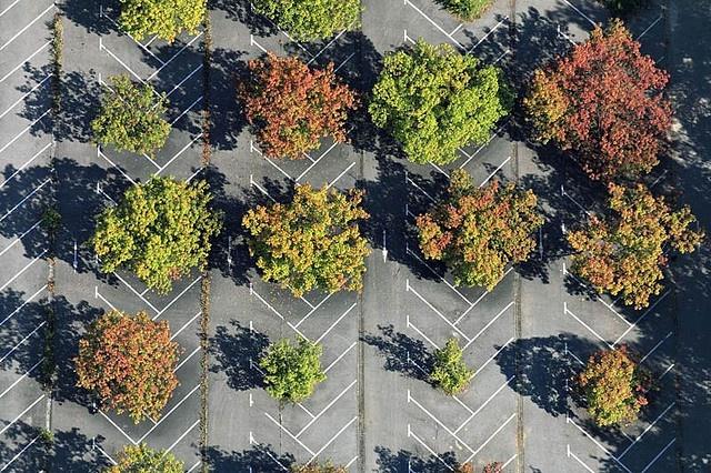 Parking place    Parking place, Rottenburg
