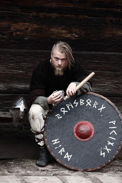 Member of the polish 'Jomsborg Viking Hird' group. http://dva.destinationviking.com/dva/memberinfo/jomsborg-vikings-hird  http://jomsborg.pl/