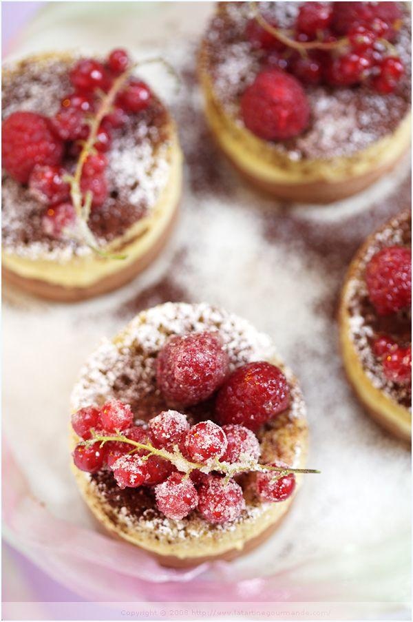 christmas layered tartlet