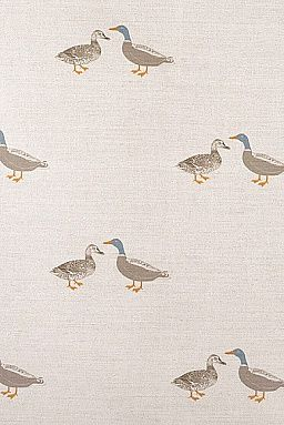 Emily Bond Ducks Linen Union