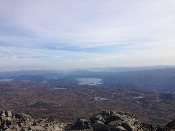 Utsikt fra Bitihorn