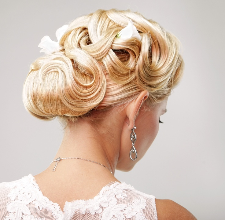 Cool 1000 Images About Gorgeous Wedding Updos On Pinterest Updo Hairstyles For Women Draintrainus