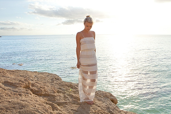 It's almost sundress weather!Long Dresses, Summer Dresses, Ahhh Dresses, Summer Wardrobes, Miguelina Nyc, Maxis Dresses, White Sundresses, Serious Style, Beach Wedding Dresses