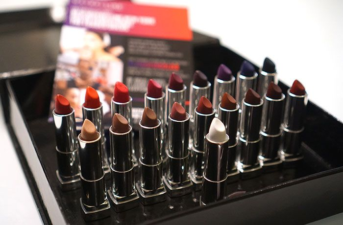 Maybelline Color Sensational Loaded Bolds Lipstick Collection