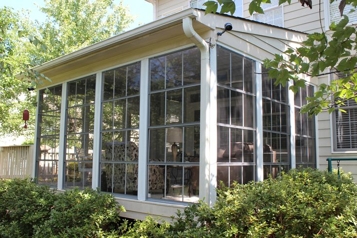 Do It Yourself Home Design: Eze Breeze Vertical 4-track Windows Featuring Two Vertical