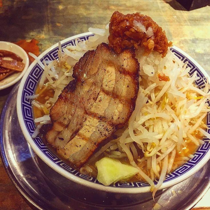 #ラーメン #麺屋こうじ #大勝軒 #大盛り #ramen #japanesefood #fujiyama #もやしもりもり