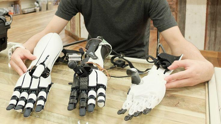 exiii - Robotic prosthetic arms | Mashable