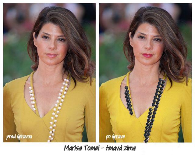 Krása vnútri: Žltá v šatníku - každý typ si nájde tú svoju..Deep Winter Wrong (Autumn colour) vs Right (DW)