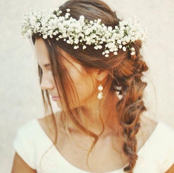 Coroa de Flores Mosquitinho Noiva