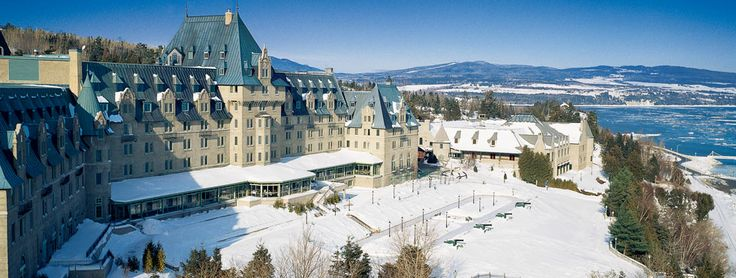 Fairmont Le Manoir Richelieu - one of the best resorts for snowmobiling!