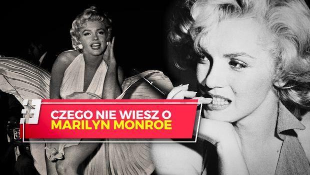 7 nieznanych faktów na temat Marilyn Monroe | wideo