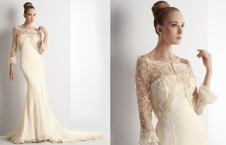 Wedding Dresses With Sleeves For Mature Brides