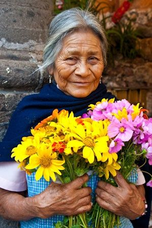 flores mexico mujer