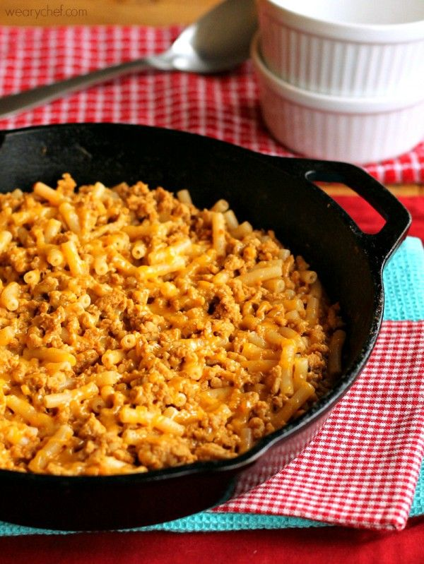 No-Brainer Taco Mac and Cheese ~ this simple recipe is just right when you need a VERY easy family-friendly dinner!