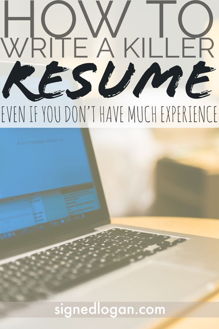 You need these 8 Resume Writing Tips to take your resume to the next level! Let's be real, creating your resume can be one of the most stressful parts of your job search. It's the first thing that you have to do before you can start applying to positions and ca… | How to Write a Killer Resume | Signed, Logan | signedlogan.com