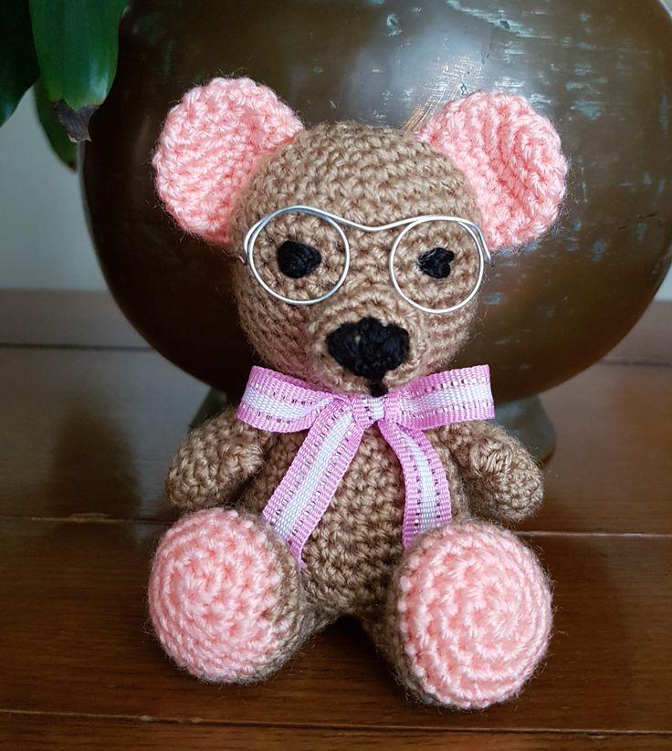 Urso; Bear; amigurumi
