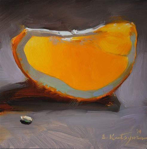 "Daily Paintworks - ""The Tastiest Fruit"" by Elena Katsyura"