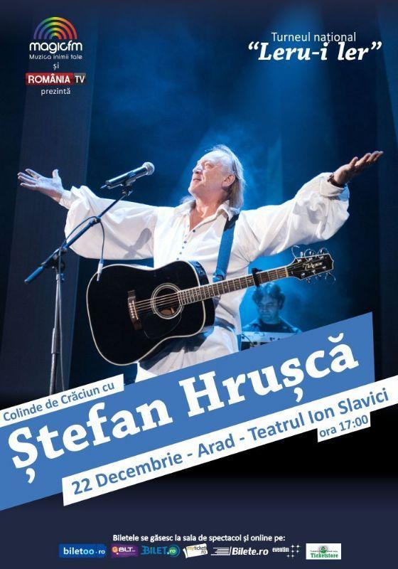 Marti, 22 Decembrie 2015, ora 17:00, Teatrul Ioan Slavici, Arad