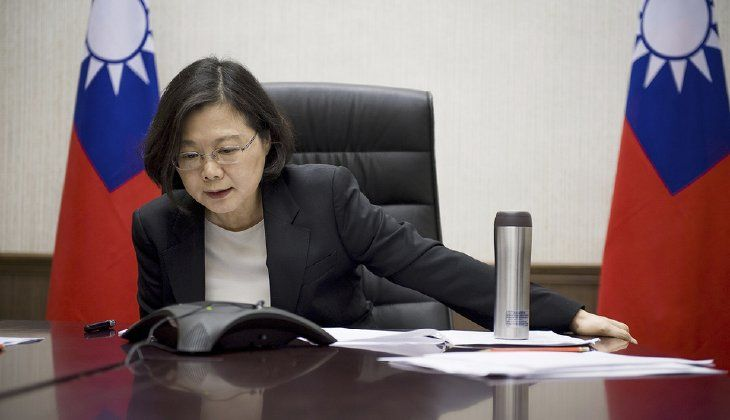 President-elect Trump recently angered Chinese officials when he spoke with Taiwan's President Tsai Ing-wen earlier this month, breaking from decades of precedent. (Taiwan Presidential Office via AP, File)