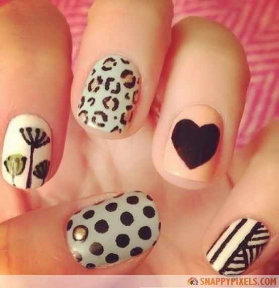 Super Freaking Cute Nails - 34 Eye-Catching Pictures - Snappy Pixels