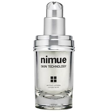 Phase 2: Active Lotion. A lightweight night lotion formulated with a high concentration of Alpha Hydroxy Acids. This active treatment optimises skin rejuvenation and skin health. Available as a refill. 60ml. Nimue Skin Technology.