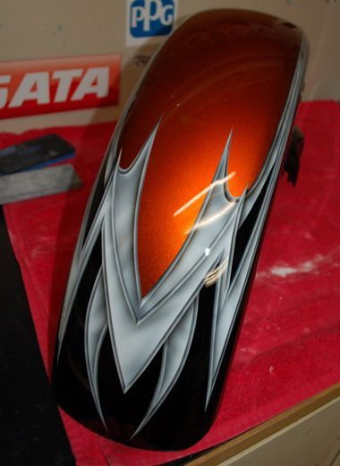 Image result for candy tangerine motorcycle paint jobs