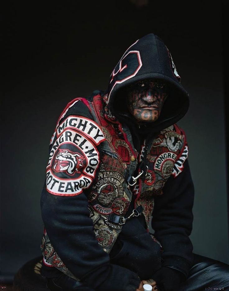 MONGREL MOB PORTRAITS by Jono Rotman