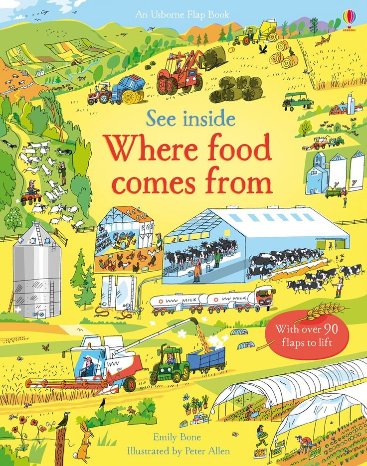 See inside where food comes from New for November
