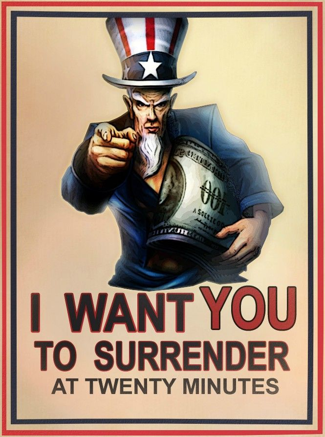 I Want You To Surrender, At 20 Minutes