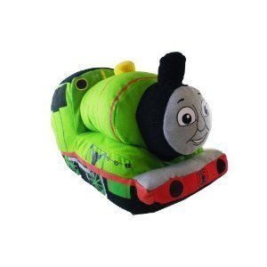"Thomas and Friends ~ Percy Green Plush Cuddle Pillow Pal for Bedding by Thomas & Friends. $21.89. Percy pillow approx 14 inch long. Looking for a fun addition to your little train engineer's bedroom decor? This Thomas and Friends Percy 14"" Plush will coordinate with Thomas the Tank Engine kids bedding for a dynamic style. A plush design lets this railway character blend in with other Thomas the Train toys and stuffed animals. Add Thomas and James to the mix for a fantastic team ..."