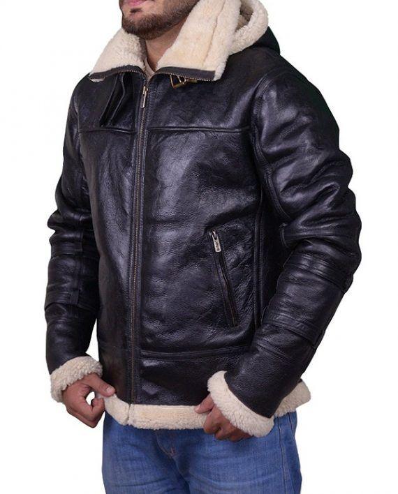 B3 Bomber Sheepskin Shearling Jacket