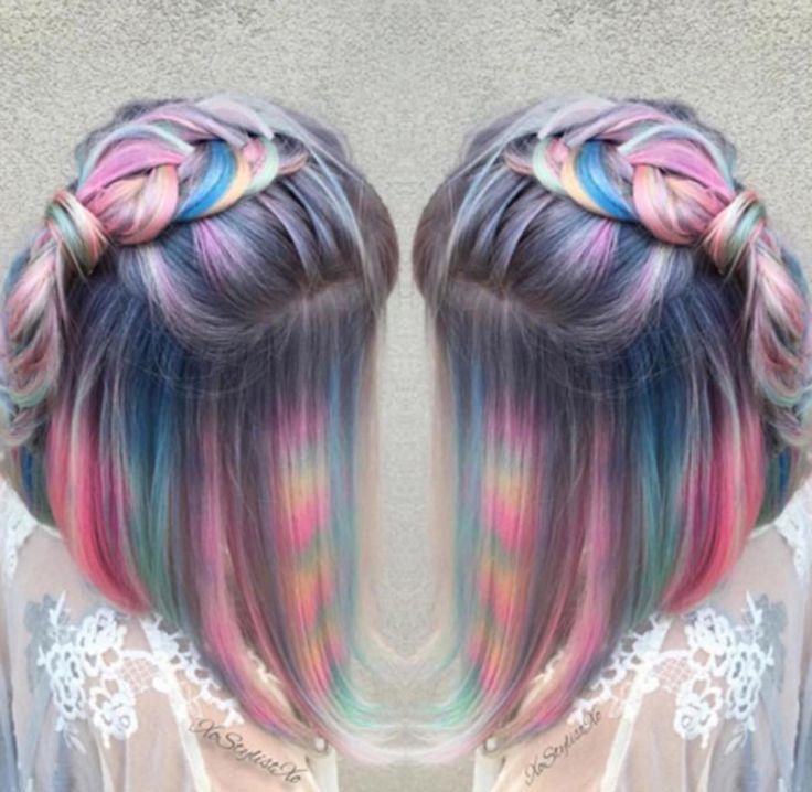 Moonstone hair color