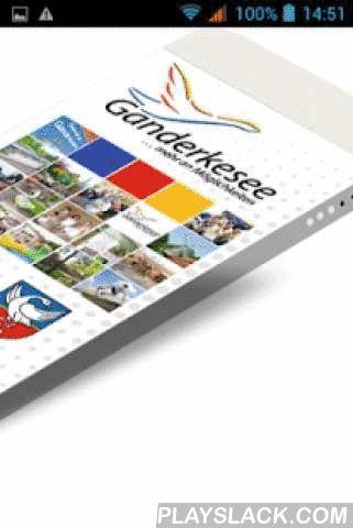 Ganderkesee  Android App - playslack.com ,  Mit der offiziellen GANDERKESEE-APP erhalten Sie ausführliche Informationen über die Gemeinde, einen übersichtlichen Rathaus-Wegweiser, nützliche Hinweise zu Sehenswürdigkeiten, interessante Kultur-, Freizeit- und Sportangebote, ein regionales Branchenbuch und ein umfangreiches Ärzteverzeichnis sowie aktuelle Nachrichten und Veranstaltungshinweise. Ob Sie die App als Bürger, Neubürger, Gast oder als Unternehmer bzw. Freiberufler nutzen - Sie sind…