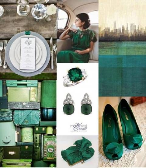 Emerald Wedding Colour One Of The Colours I Want To Have Love Those
