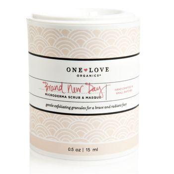 One Love Organics Brand New Day Microderma Scrub & Masque, Discovery Size, $12.00