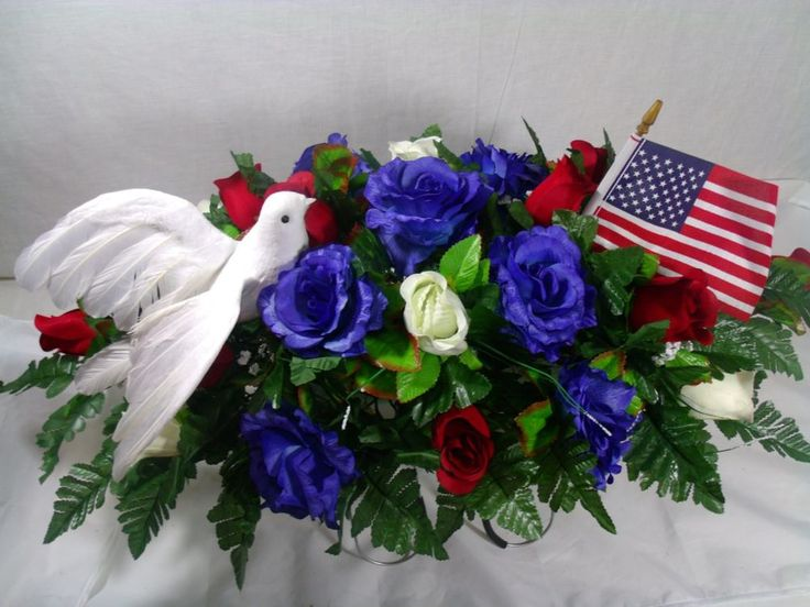 Details About Patriotic Cemetery Graveside Saddle