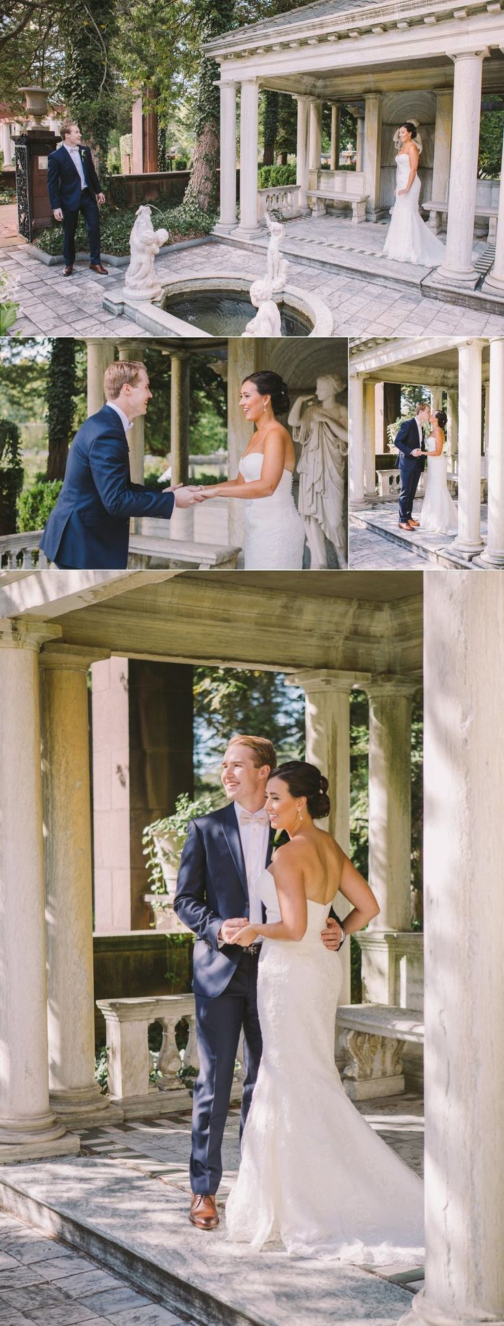 Sonnenberg Gardens Wedding Rochester NY Photographers Elizabeth Jeff Married