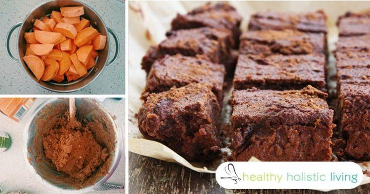 Sweet Potato Brownies Gluten Free Flourless Brownies 5 ingredient brownies