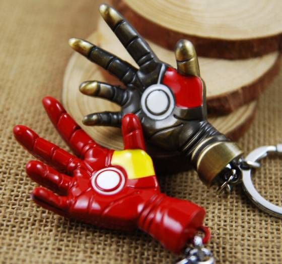 Shopo.in : Buy Iron Man Fist Keychain online at best price in New Delhi, India