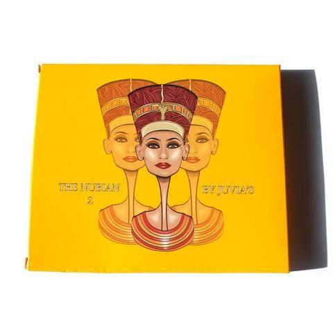 NEW matte eyeshadow Juvia's Place Nubian 2 Yellow Eye Shadow Palette for natural glitter eyeshadow balm nake palette