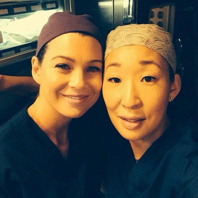 Grey's Anatomy: Ellen Pompeo Shares Loving Selfie Amid Last Scenes With Sandra Oh