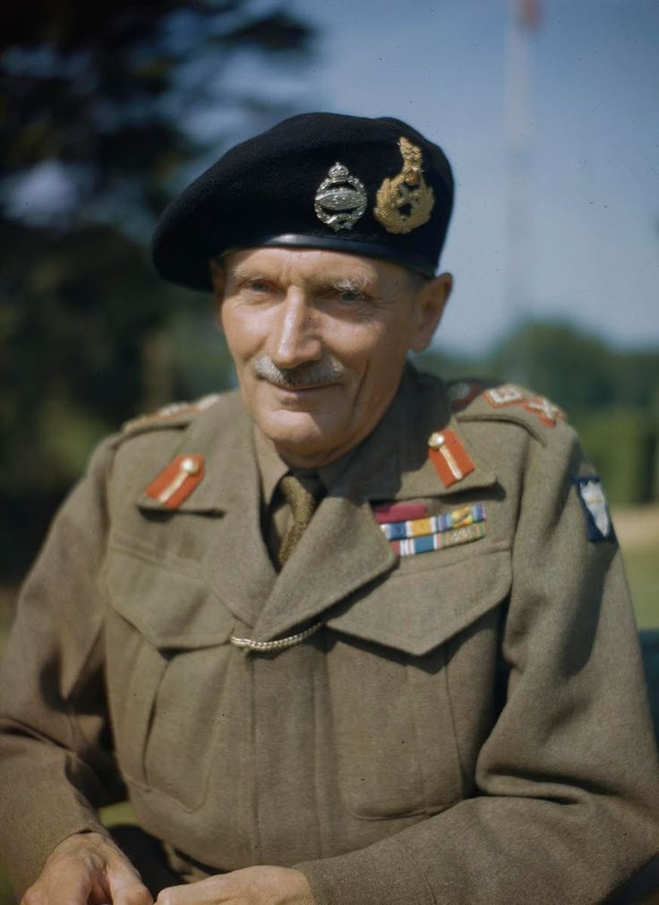 Field Marshal Bernard Law Montgomery, 1st Viscount... - Forgotten Futures