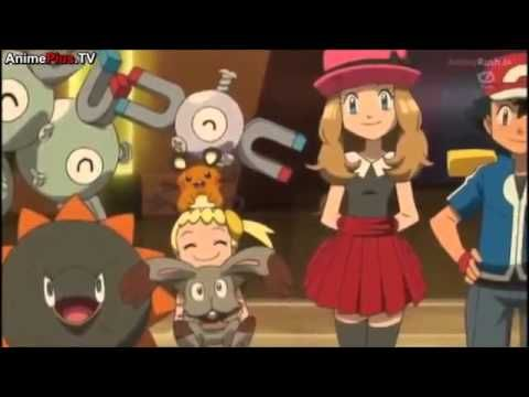 Pokemon X And Y Anime Episode 9