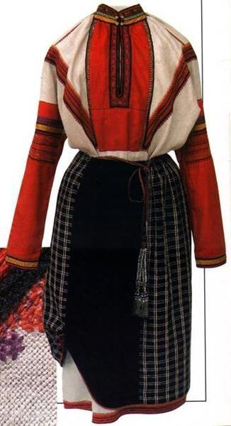 Изменение русский народный костюм