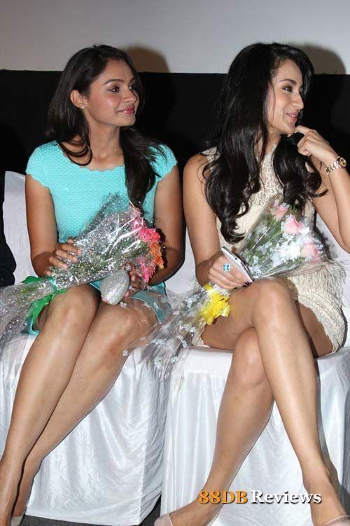 Endrendrum Punnagai Audio Launch Photos - Hot ladies - Andrea & Trisha