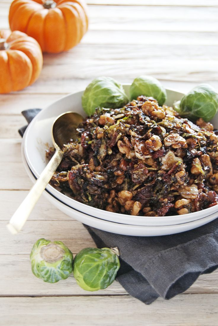 These shredded Brussel sprouts are the perfect flavor-filled side dish ...