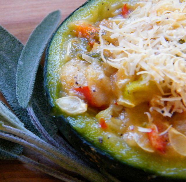 Stuffed Round Zucchini (Zapallitos Rellenos)
