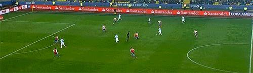Javier Pastore's goal against Paraguay