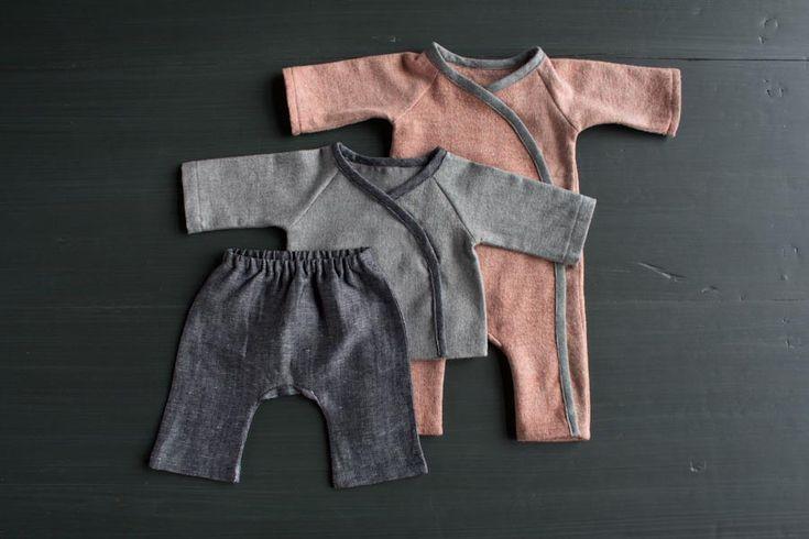Sewn Layette in Cozy Flannel | Purl Soho