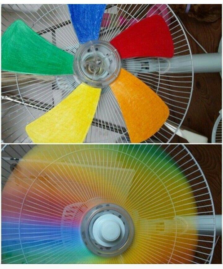 Радужный вентилятор